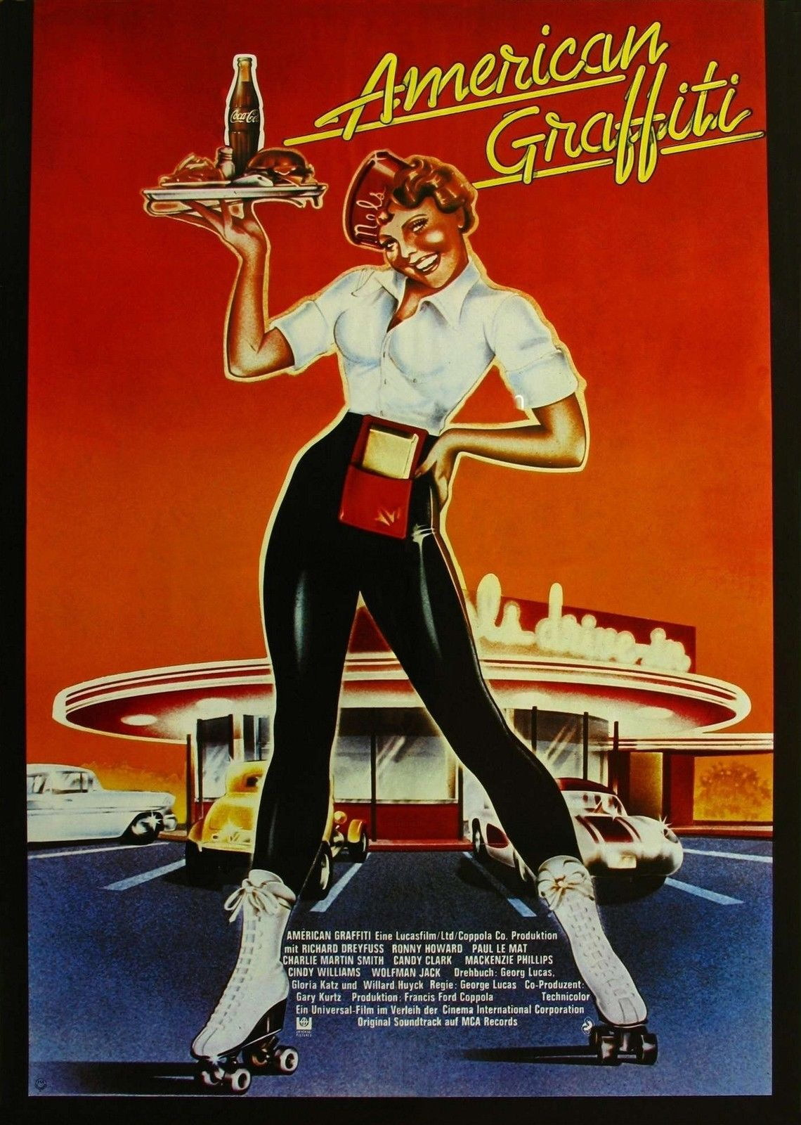 72530 AMERICAN GRAFFITI Movie Wall Print Poster Affiche