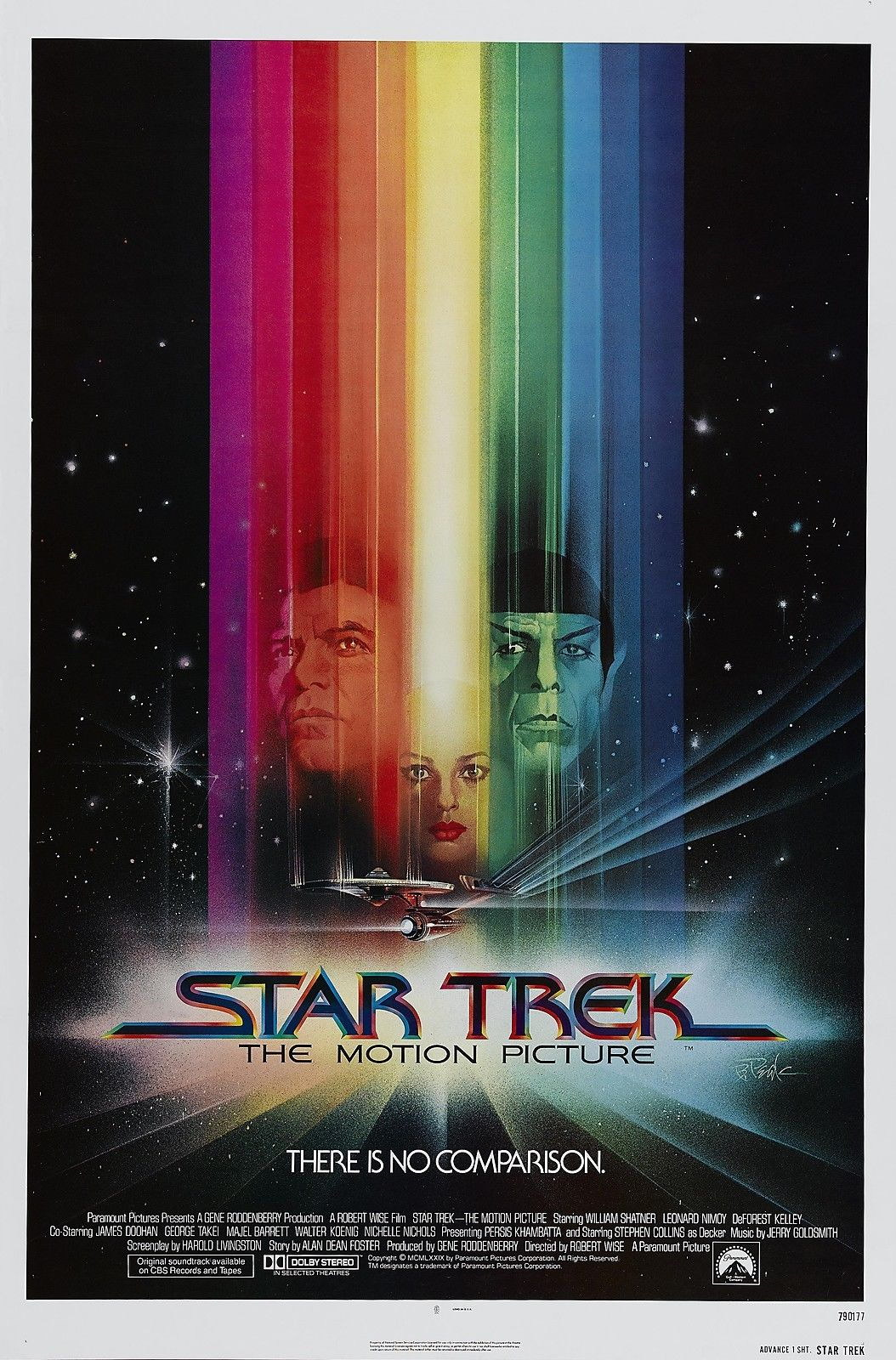72536-STAR-TREK-THE-MOTION-PICTURE-William-Shatner-Wall-Print-Poster-Affiche