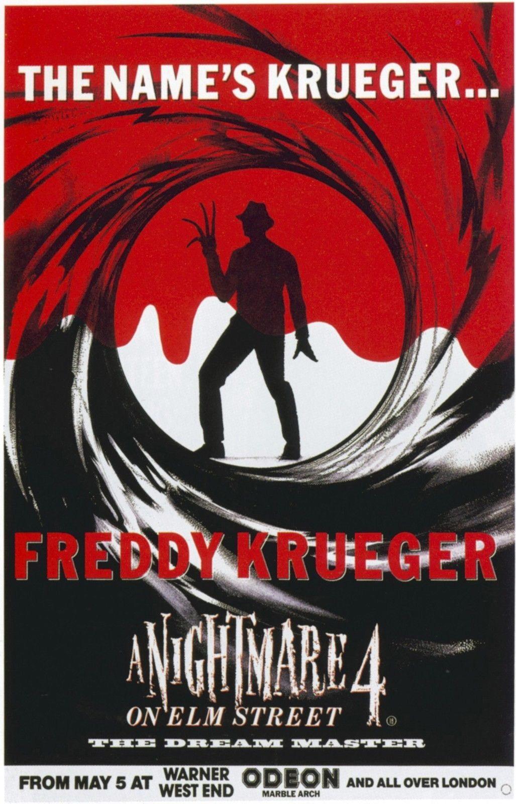 72565 A NIGHTMARE ON ELM STREET DREAM MASTER Wall Print Poster Plakat