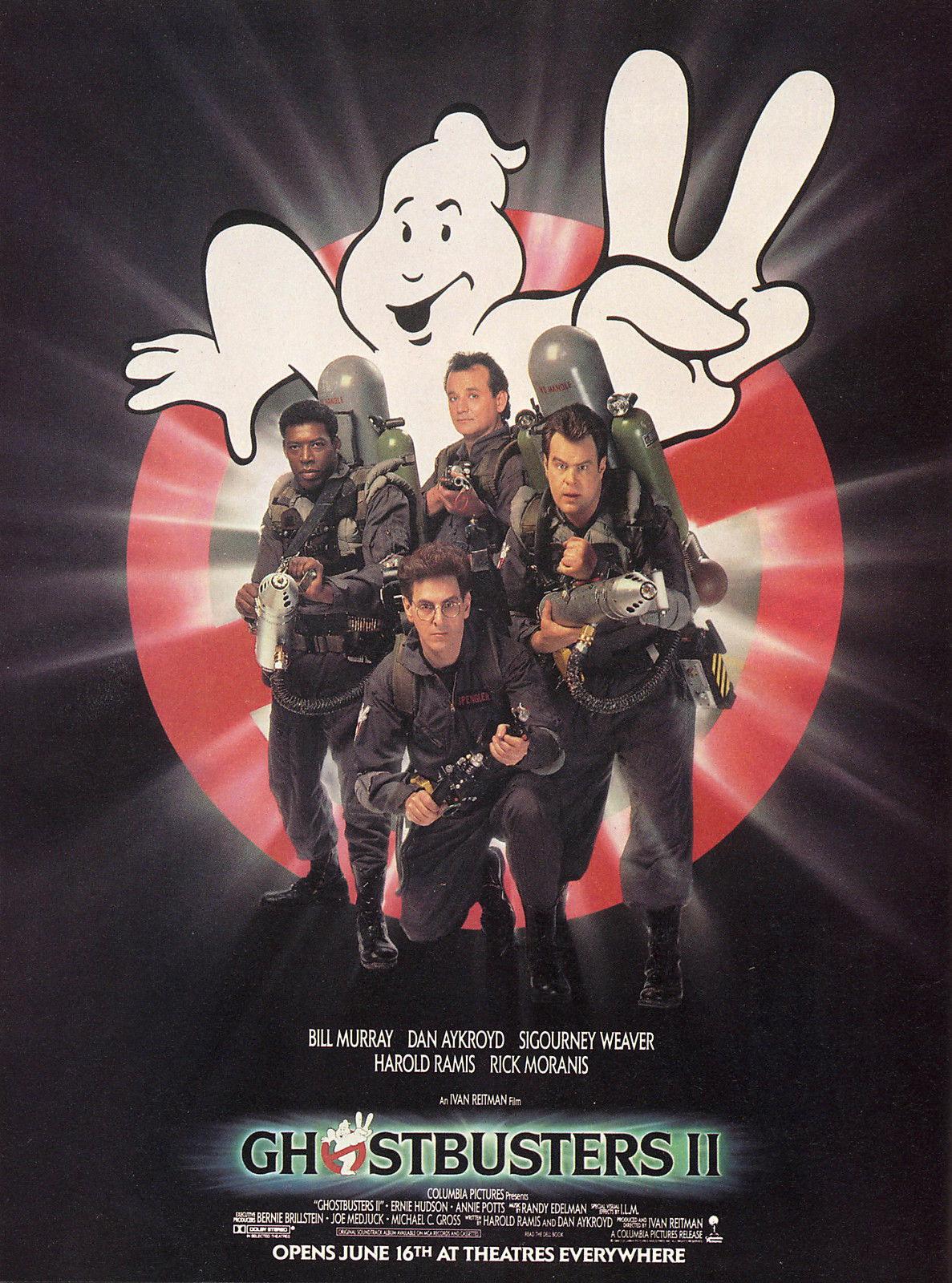 72715-GHOSTBUSTERS-II-Movie-Bill-Murray-Dan-Akroyd-Wall-Print-Poster-Affiche