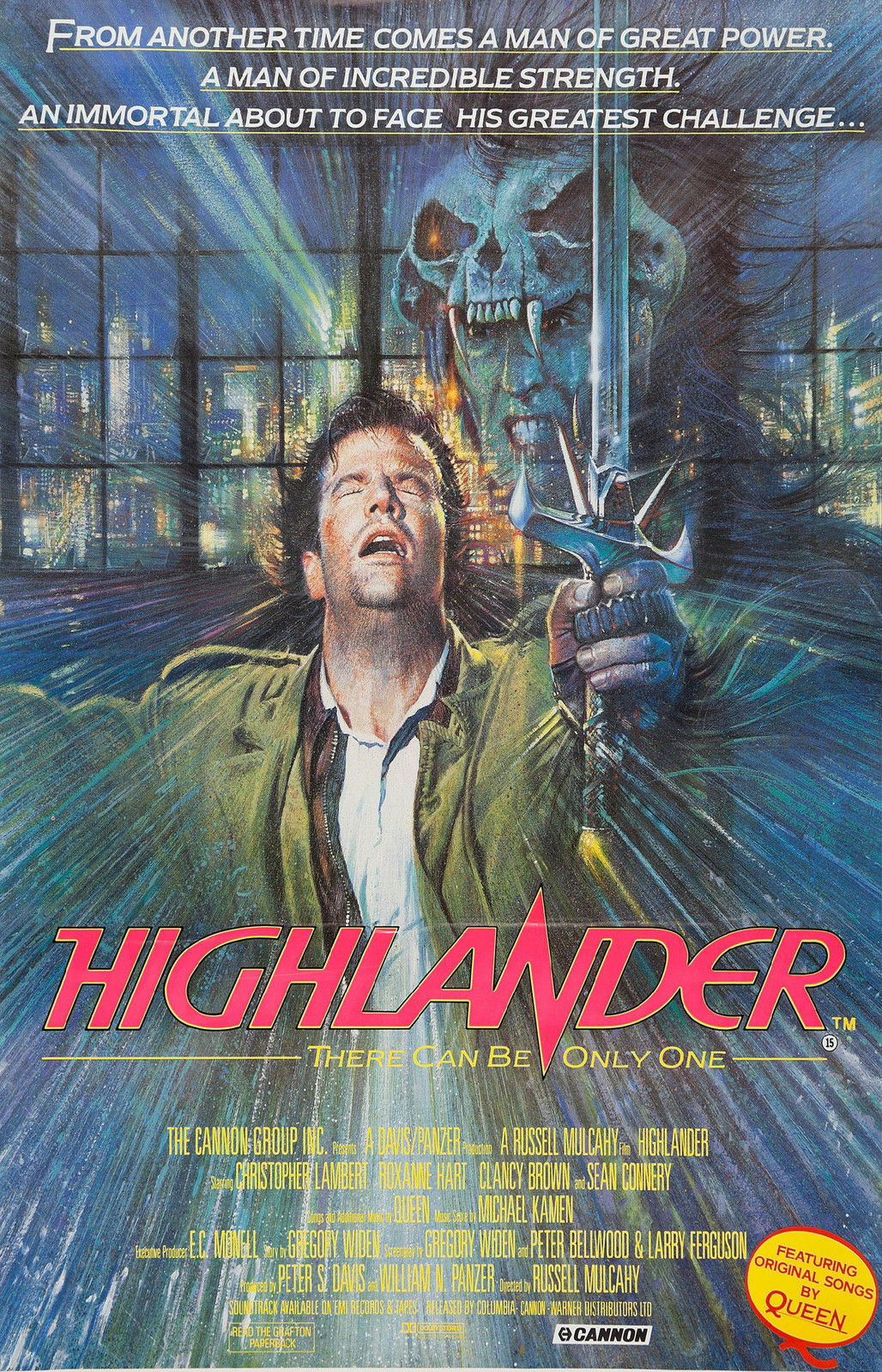 72731-HIGHLANDER-Movie-Rare-Sci-Fi-Wall-Print-Poster-Affiche