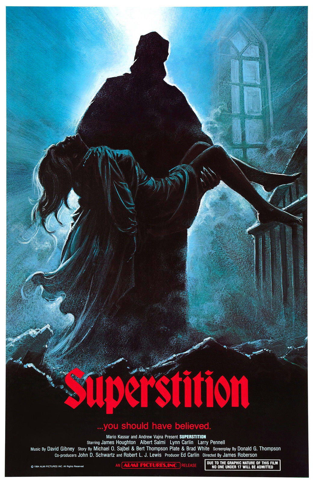 72737 SUPERSTITION Movie RARE Horror Wall Print Poster Affiche