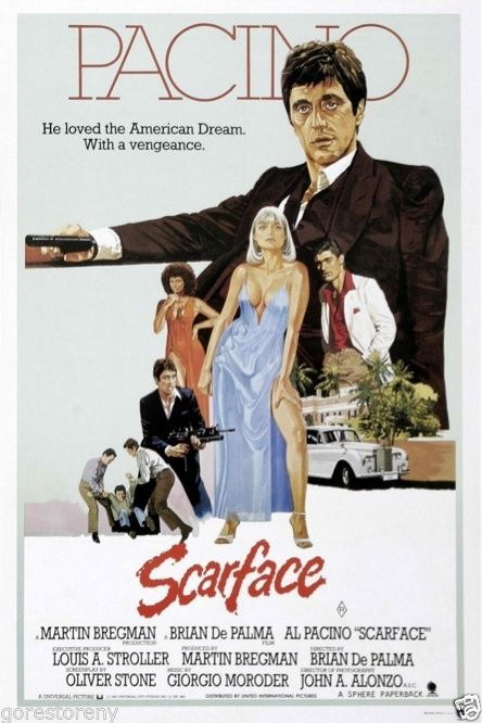 72796-SCARFACE-Al-Pacino-Gangster-Drugs-Brian-De-Palma-Wall-Print-Poster-Affiche