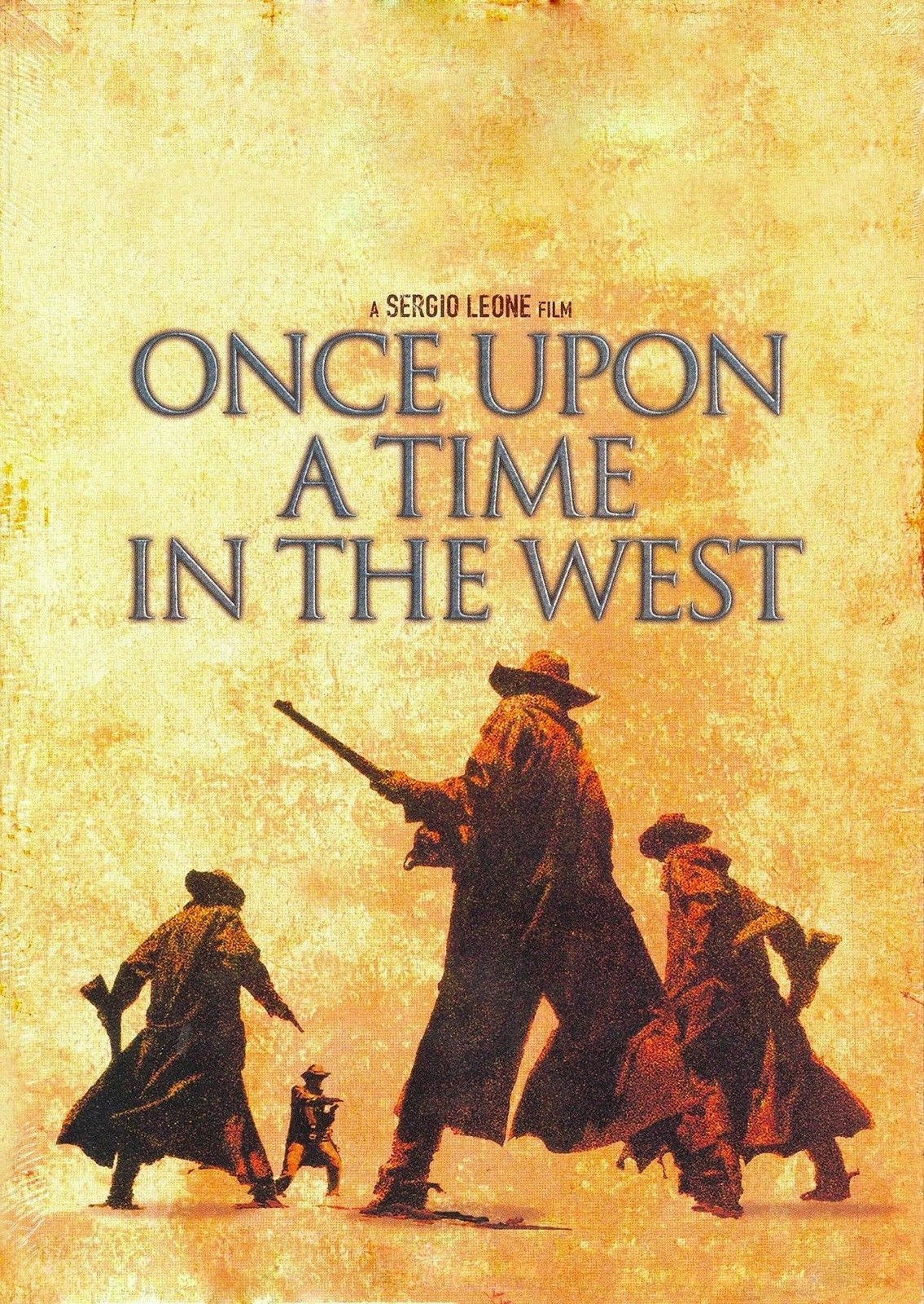 72834 ONCE UPON A TIME IN THE WEST Spaghetti Western Wall Print ...