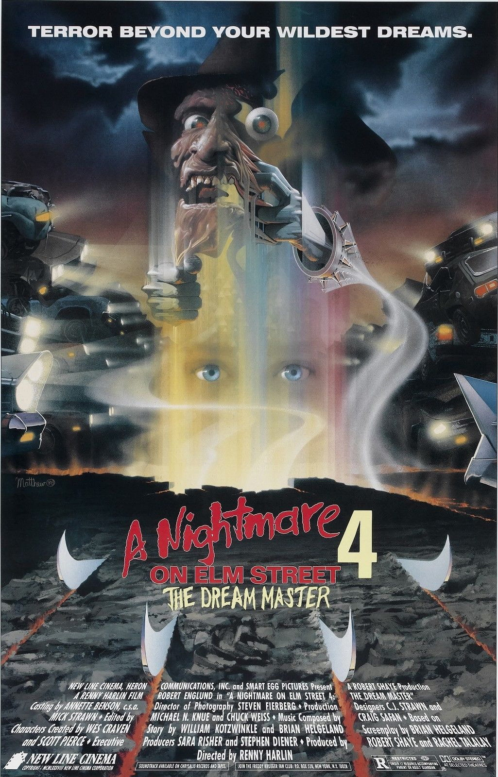 72915 A NIGHTMARE ON ELM STREET DREAM MASTER Wall Print Poster Affiche