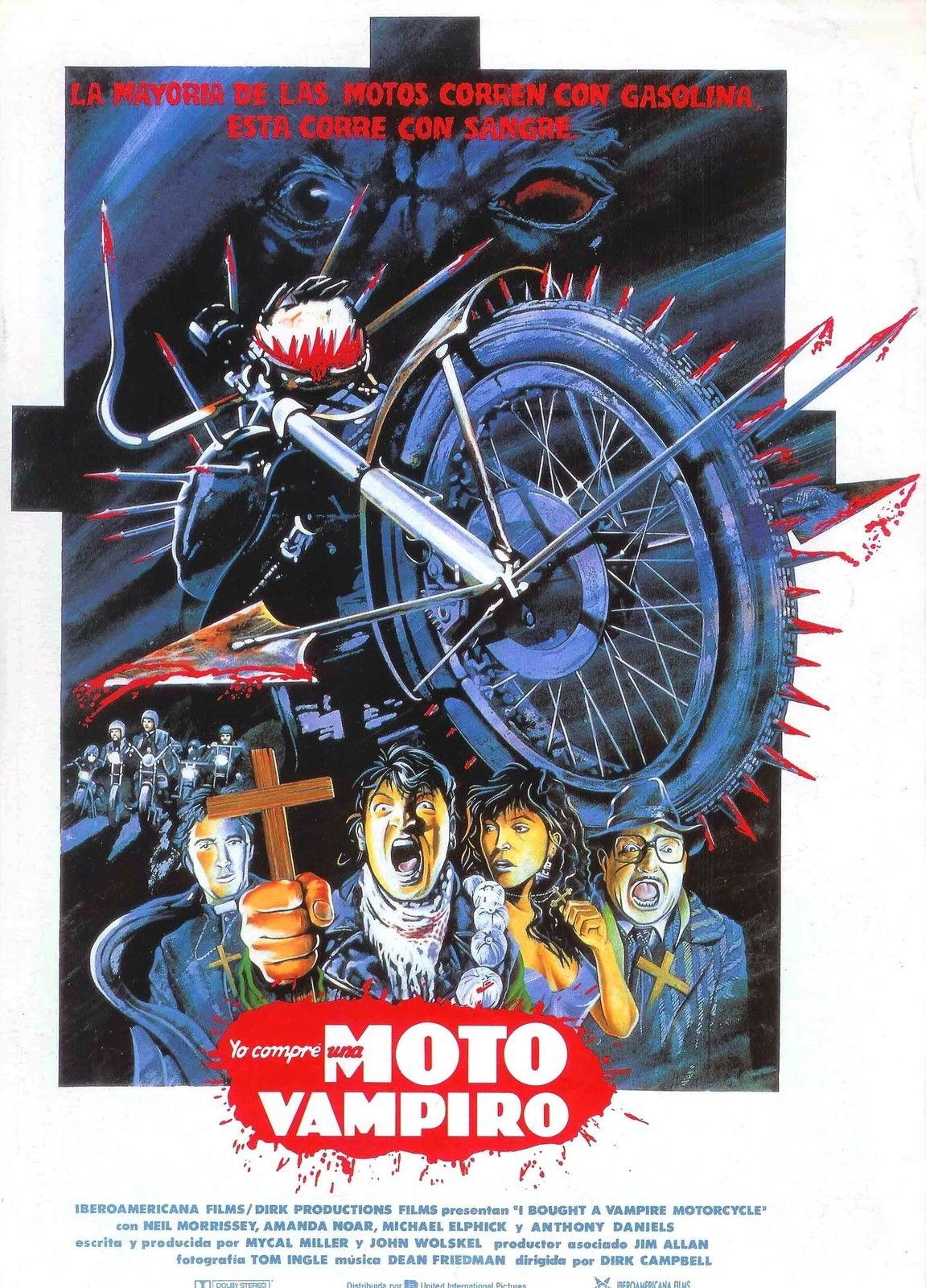 72936 I BOUGHT A VAMPIRE MOTORCYCLE Movie Comedy Wall Print Poster Affiche
