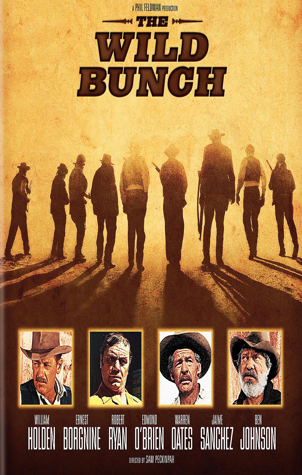 72963-THE-WILD-BUNCH-Movie-RARE-Western-Wall-Print-Poster-Affiche