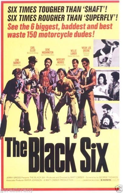 72996-THE-BLACK-SIX-Blaxploitation-Superfly-Shaft-Wall-Print-Poster-Affiche