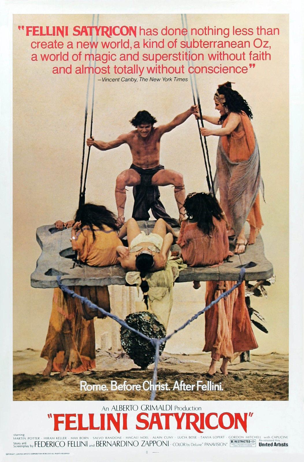 73032-Fellini-Satyricon-034-Fellini-Satyricon-034-Movie-Wall-Print-Poster-Affiche