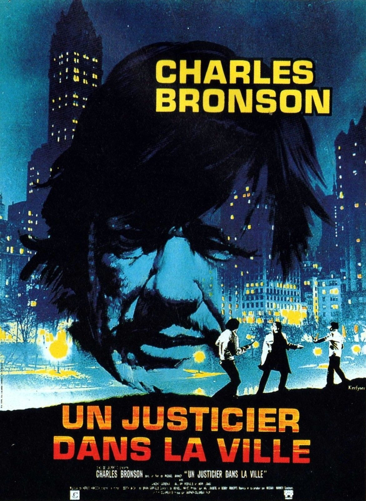 73051-DEATH-WISH-Movie-Charles-Bronson-RARE-Version-Wall-Print-Poster-Affiche
