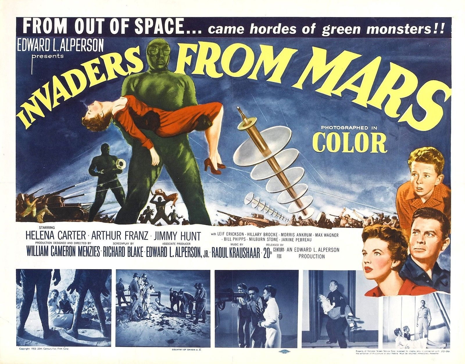 73055-INVADERS-FROM-MARS-Movie-Sci-Fi-Classic-Wall-Print-Poster-Affiche