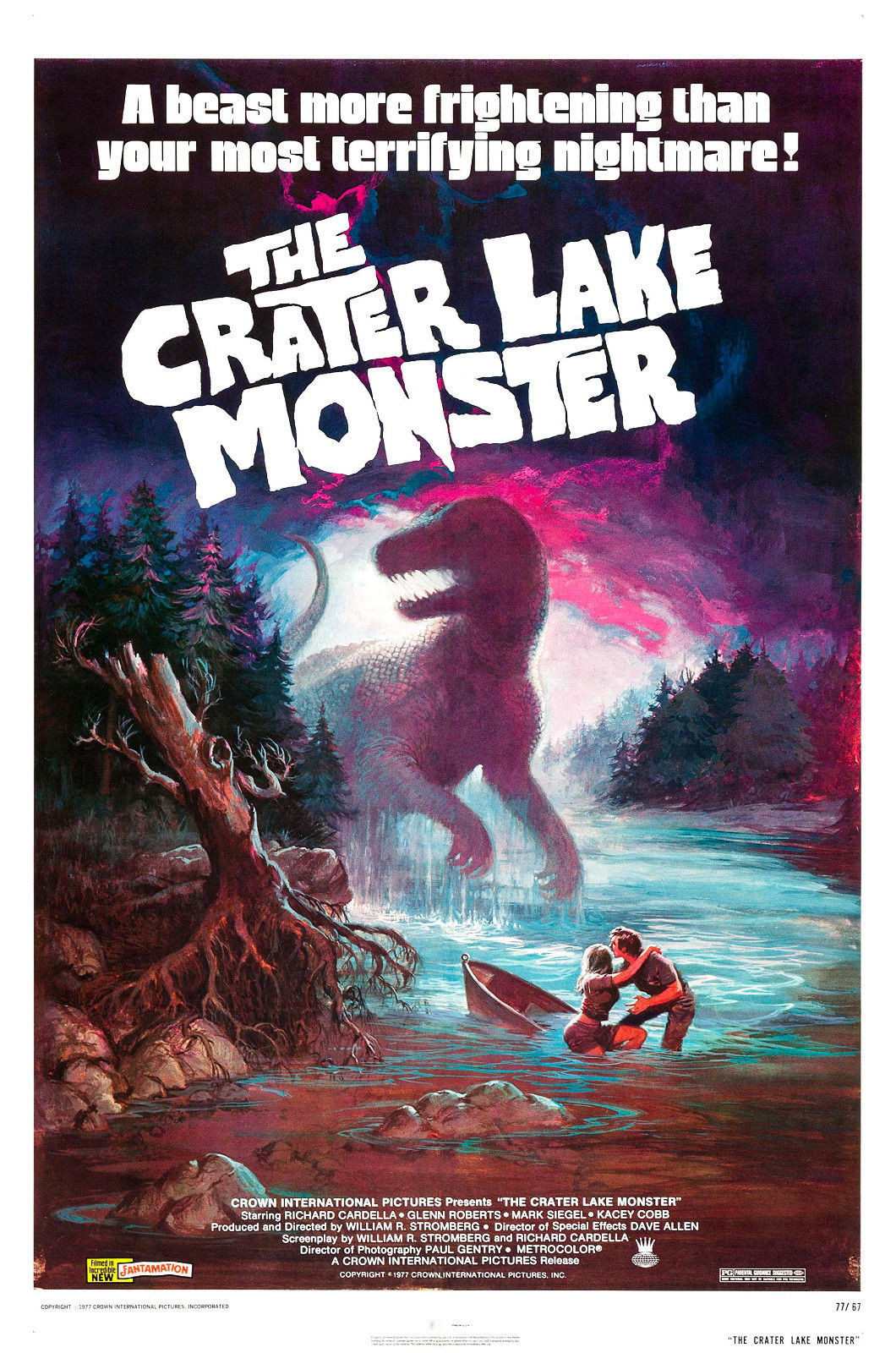 73075-The-Crater-Lake-Monster-1977-Movie-Wall-Print-Poster-Affiche