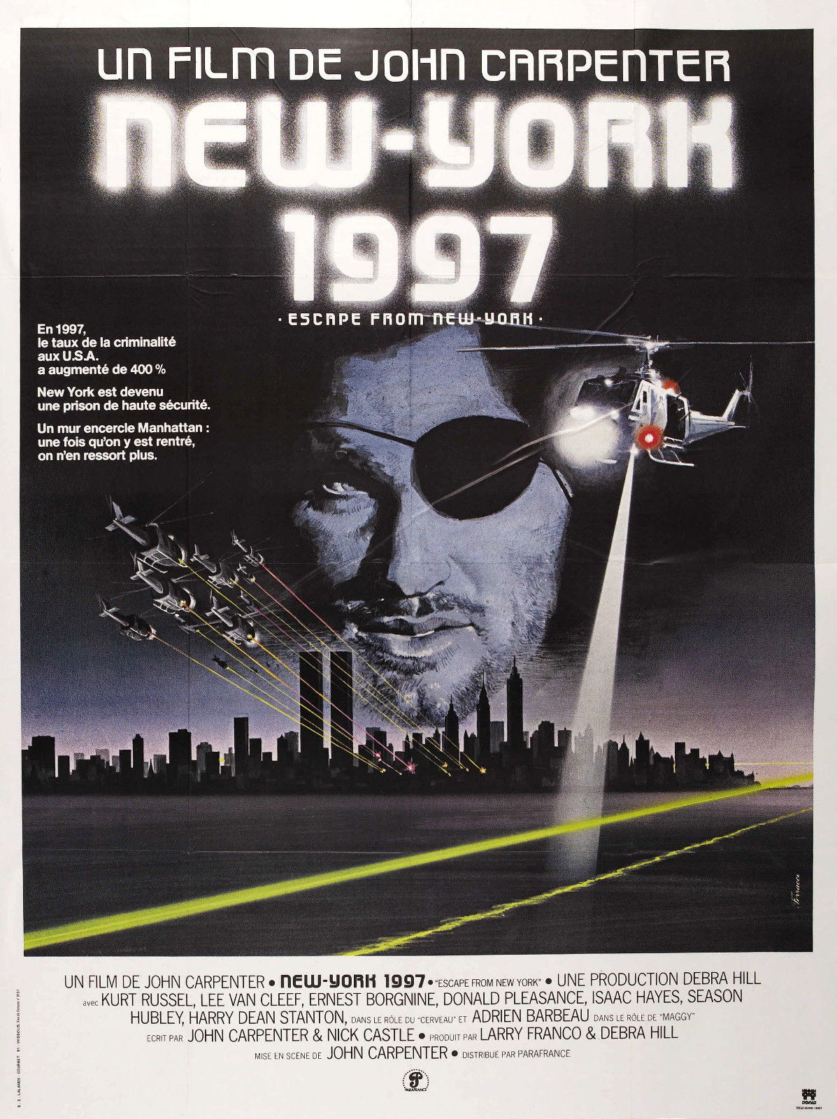 73133-Escape-from-New-York-1981-Movie-Wall-Print-Poster-Affiche