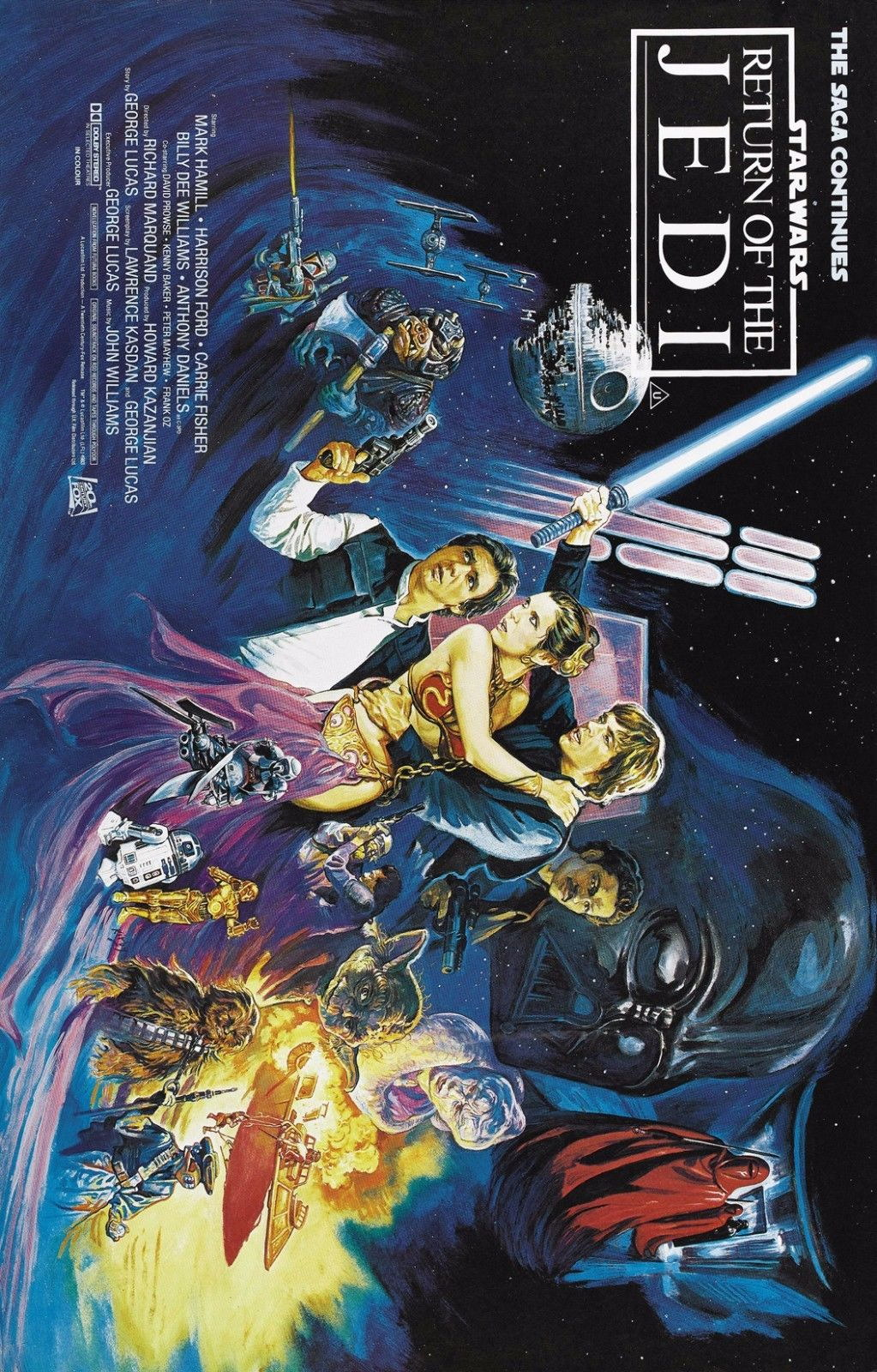 73154-STAR-WARS-OF-THE-Episode-VI-Empire-Strikes-Wall-Print-Poster-Affiche