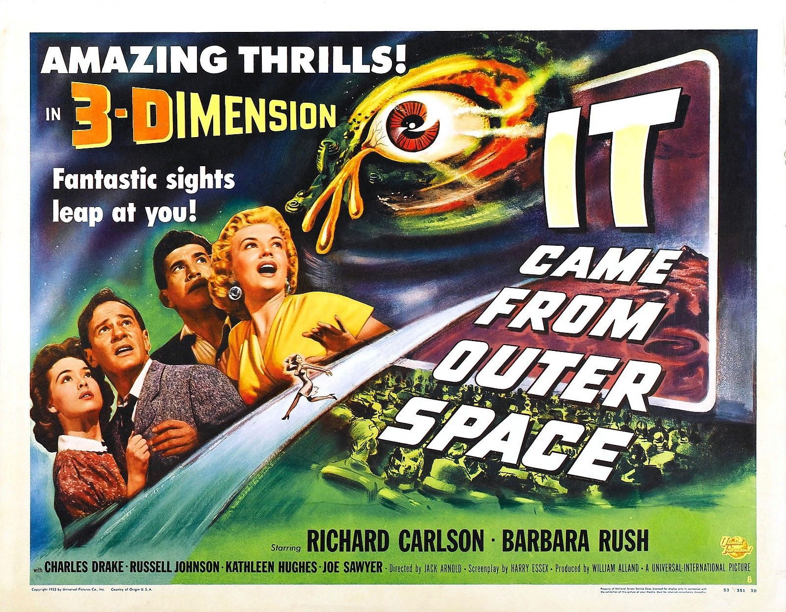 73174-IT-CAME-FROM-OUTER-SPACE-Sci-Fi-Monster-Wall-Print-Poster-Affiche