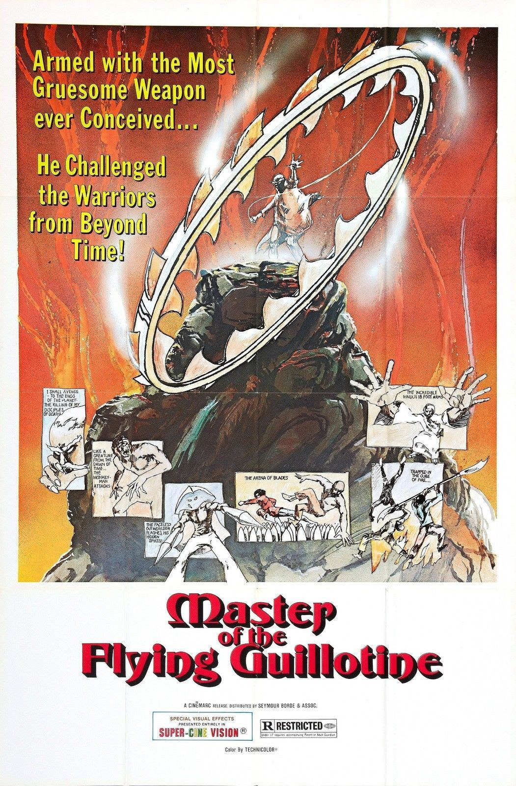 73246-MASTER-OF-THE-FLYING-GUILLOTINE-Movie-Kung-Fu-Wall-Print-Poster-Affiche
