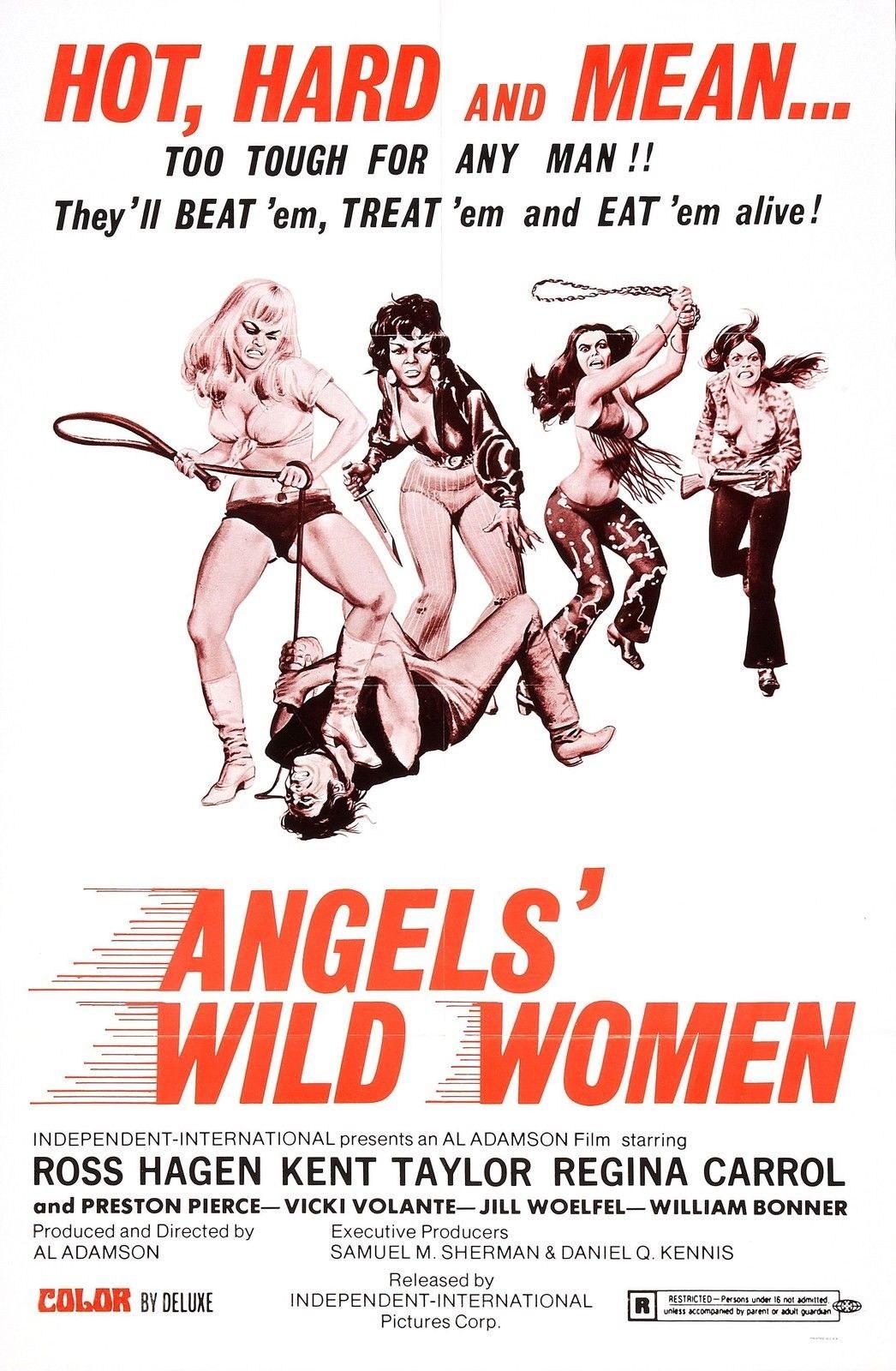 73264-ANGELS-WILD-WOMEN-Hells-Angels-Biker-Wall-Print-Poster-Affiche