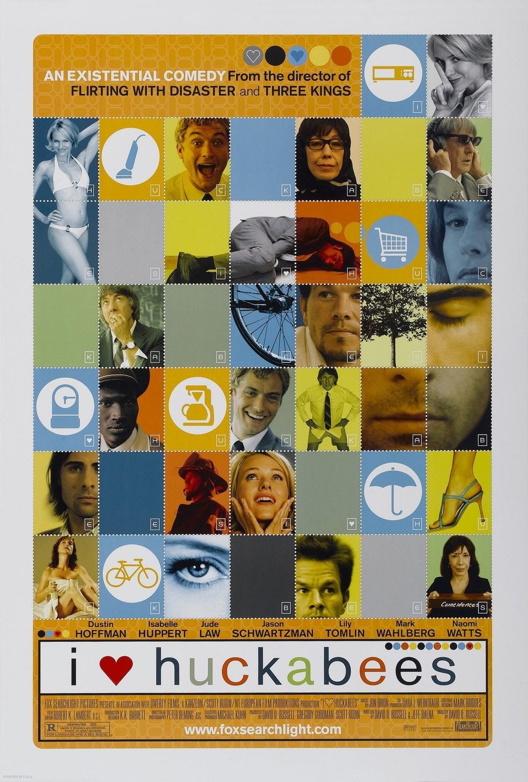73294 I HEART HUCKABEES Movie Wall Print Poster Affiche