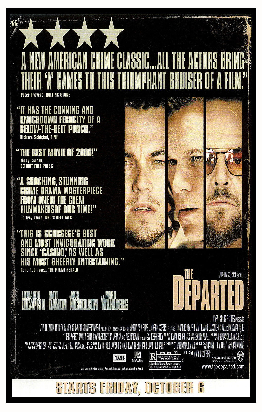 73385-THE-DEPARTED-Martin-Scorsese-Leonardo-DiCaprio-Wall-Print-Poster-Affiche