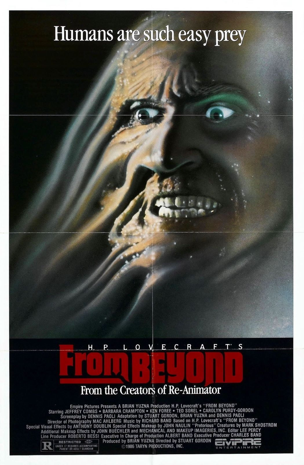 73435-From-Beyond-Movie-1986-Fantasy-Drama-Wall-Print-Poster-Affiche