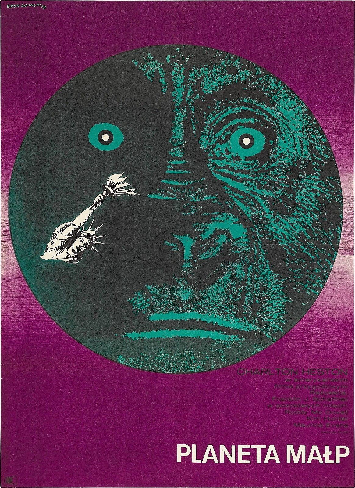 73515-PLANET-OF-THE-APES-Movie-RARE-European-Version-Wall-Print-Poster-Affiche