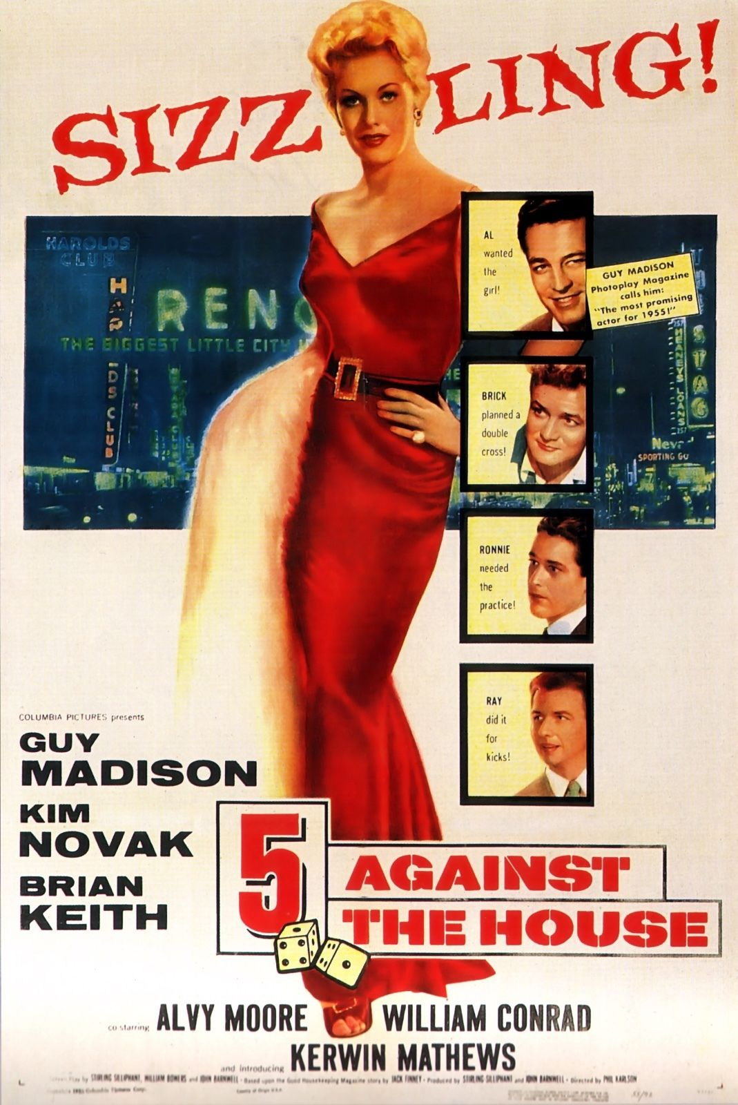 73644-5-Against-the-House-Movie-1955-Crime-Drama-Wall-Print-Poster-Affiche