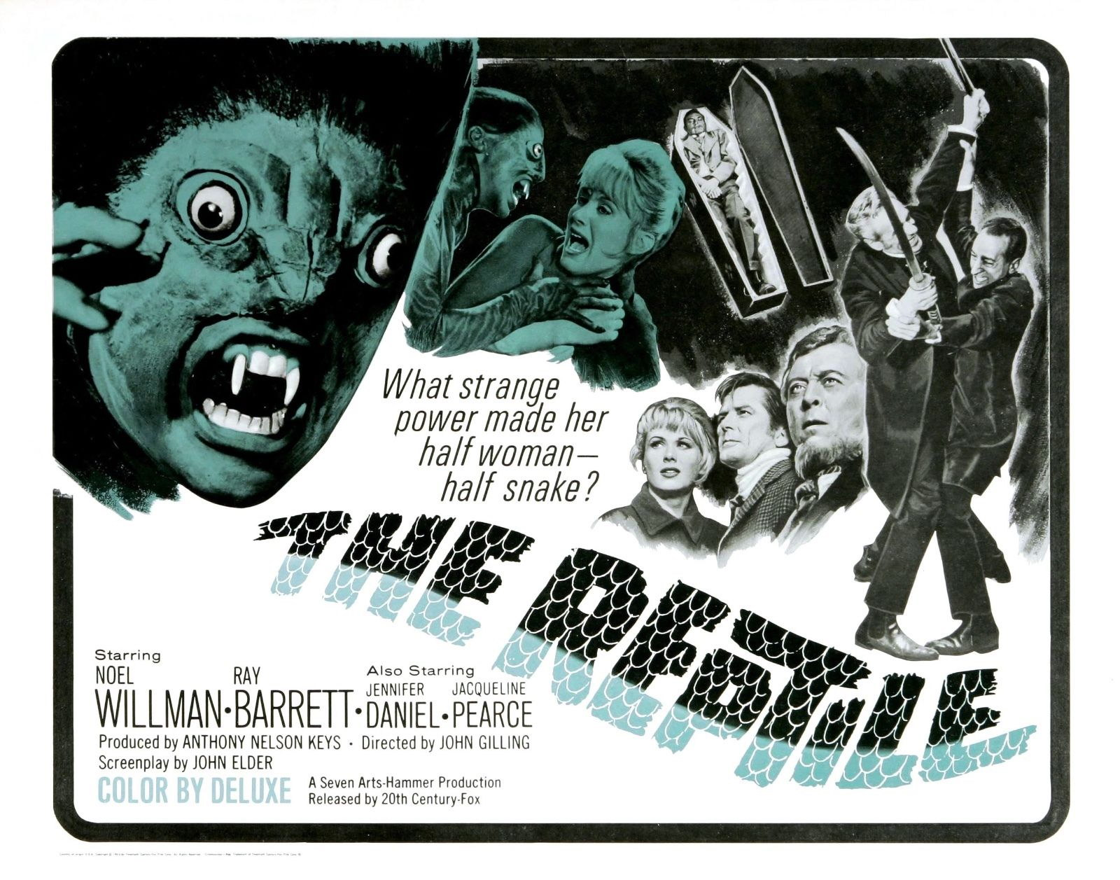 73679-The-Reptile-Movie-1966-Thriller-Cult-Wall-Print-Poster-Affiche