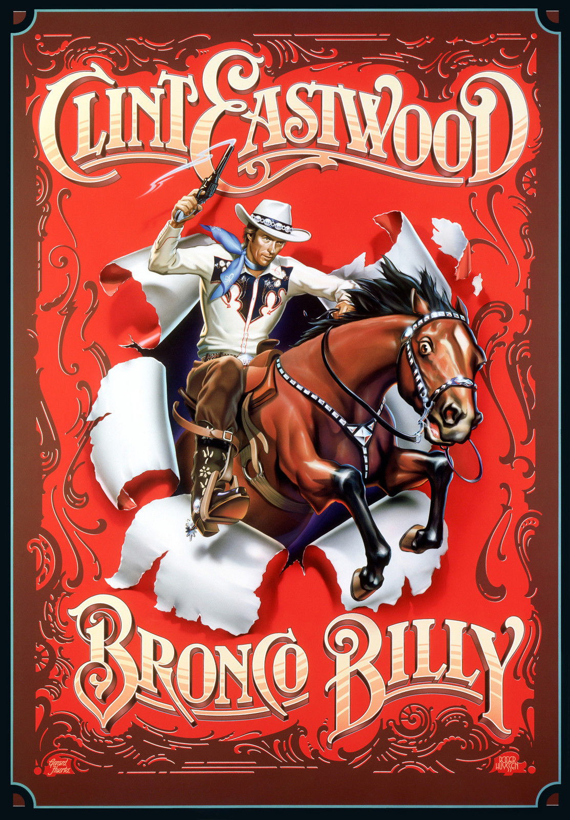 73687-BRONCO-BILLY-Movie-RARE-Clint-Eastwood-Western-Wall-Print-Poster-Affiche