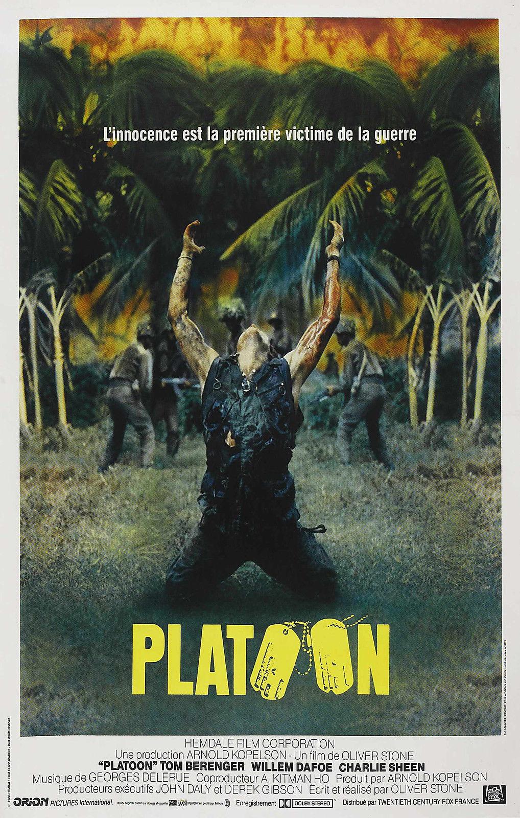 73699-PLATOON-1986-Charlie-Sheen-Veitnam-Oliver-Stone-Wall-Print-Poster-Affiche