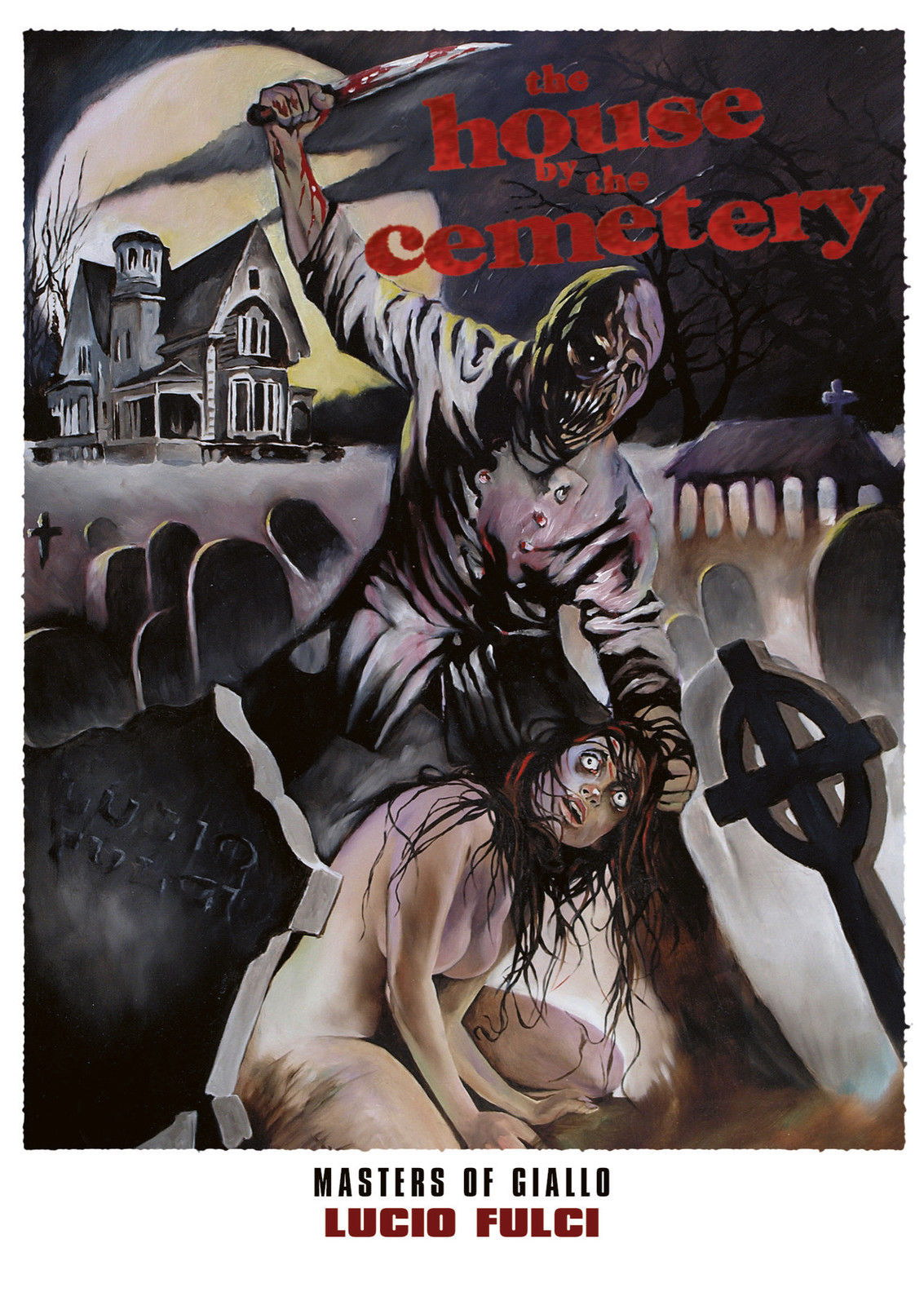 73710 THE HOUSE BY THE CEMETERY Movie 1981 Lucio Fulci Wall Print Poster Affiche