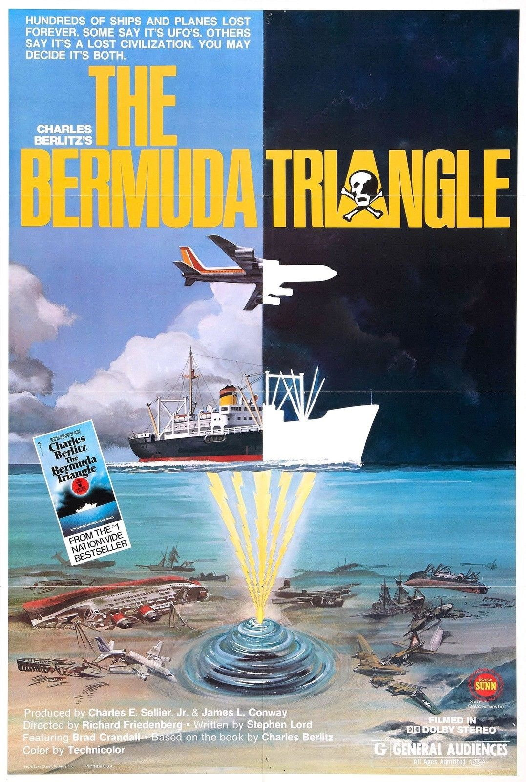 73737-THE-BERMUDA-TRIANGLE-Movie-Thriller-Sci-Fi-Wall-Print-Poster-Affiche