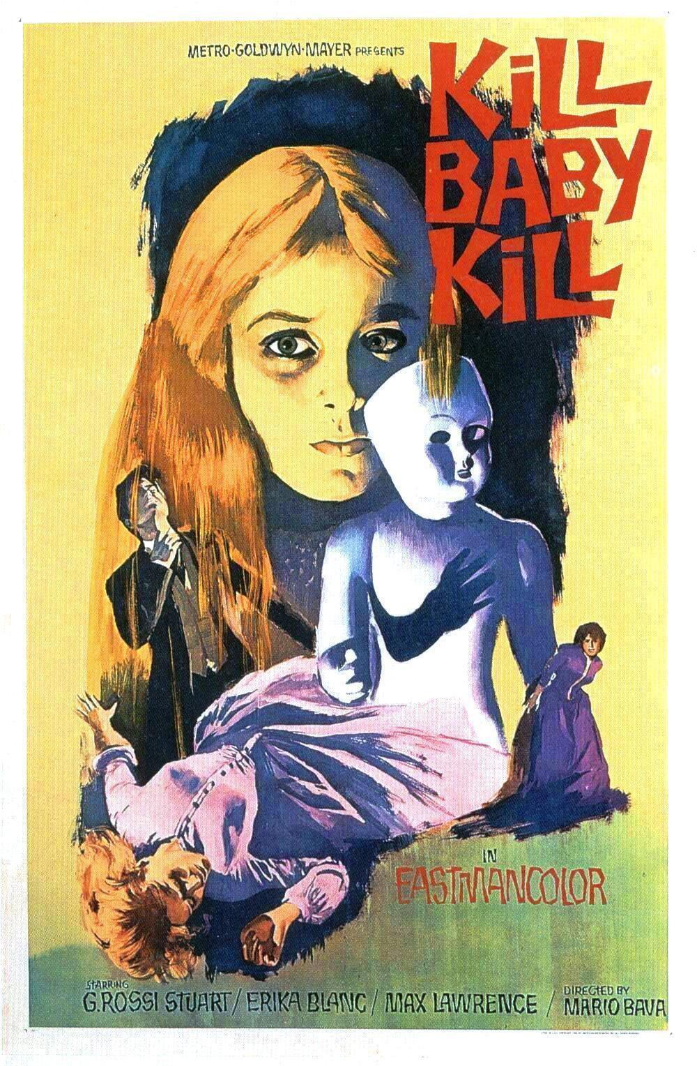 73746-KILL-BABY-KILL-Movie-1966-Mario-Bava-Wall-Print-Poster-Affiche