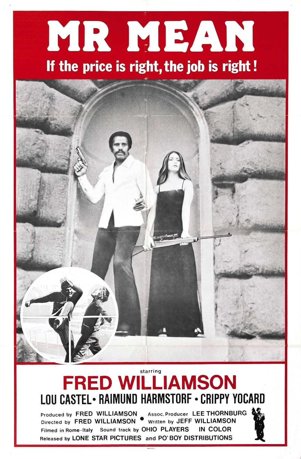 73899 Mr. Mean Movie 1977 Action Drama Wall Print Poster Affiche