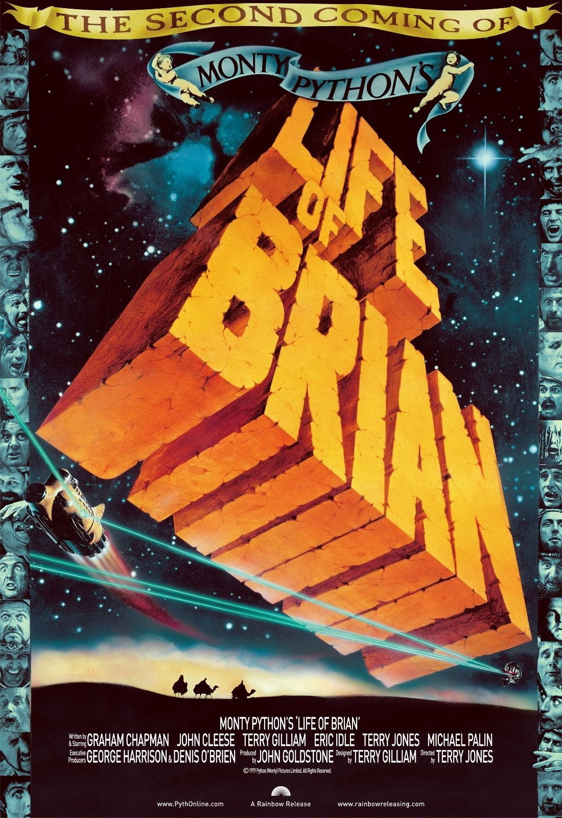 73924 Monty Python's Life of Brian Movie 1979 Comedy Wall Print Poster Affiche