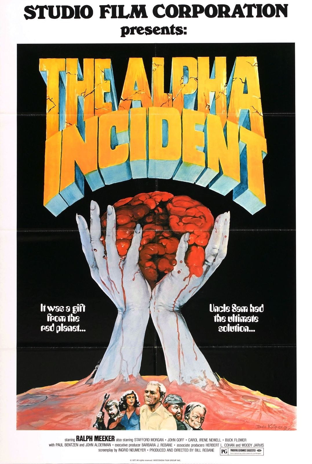 73984 The Alpha Incident Movie 1978 Horror Sci-Fi Wall Print Poster Affiche