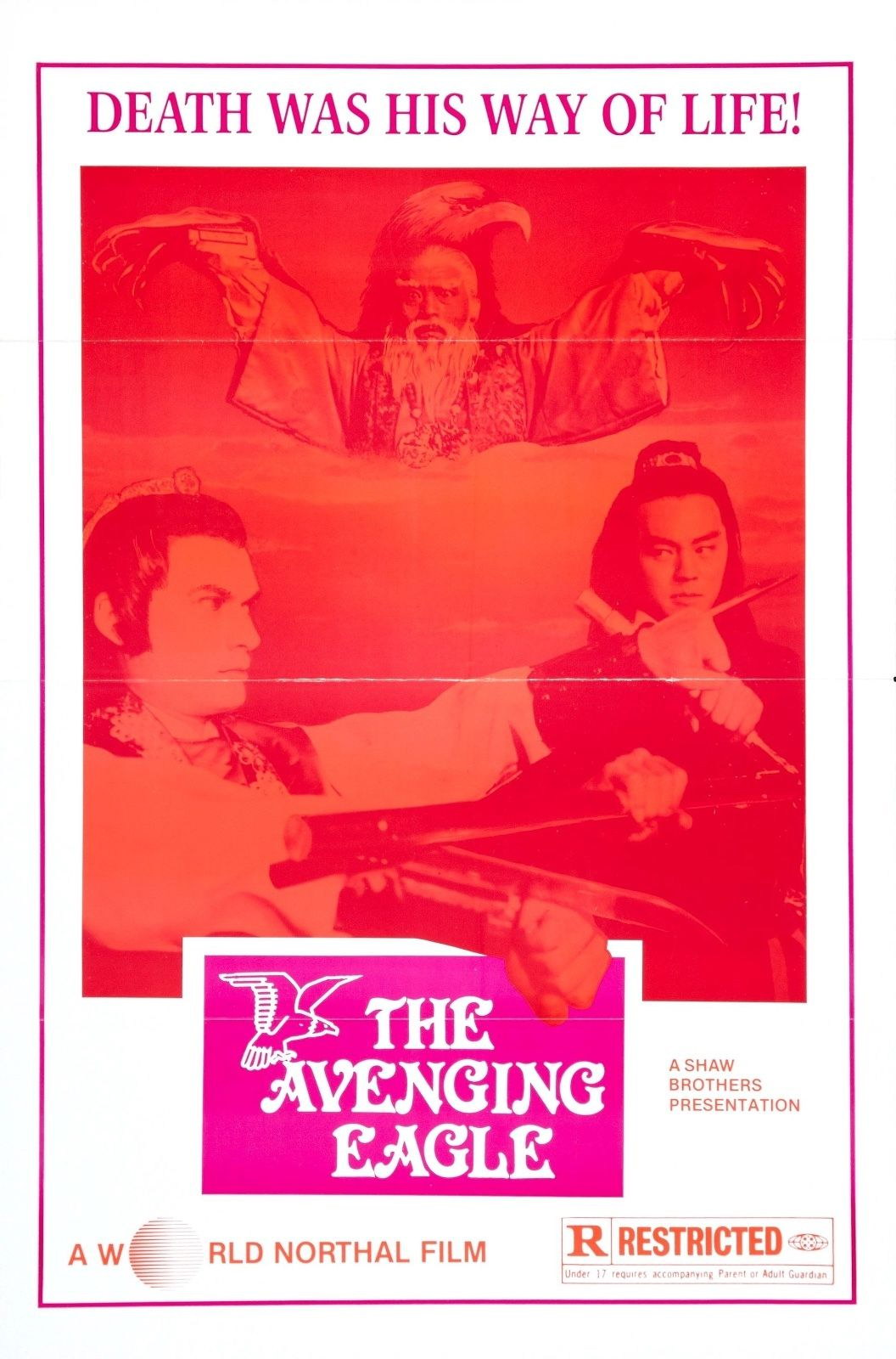 73986-The-Avenging-Eagle-1978-Action-Martial-Arts-Film-Wall-Print-Poster-Affiche