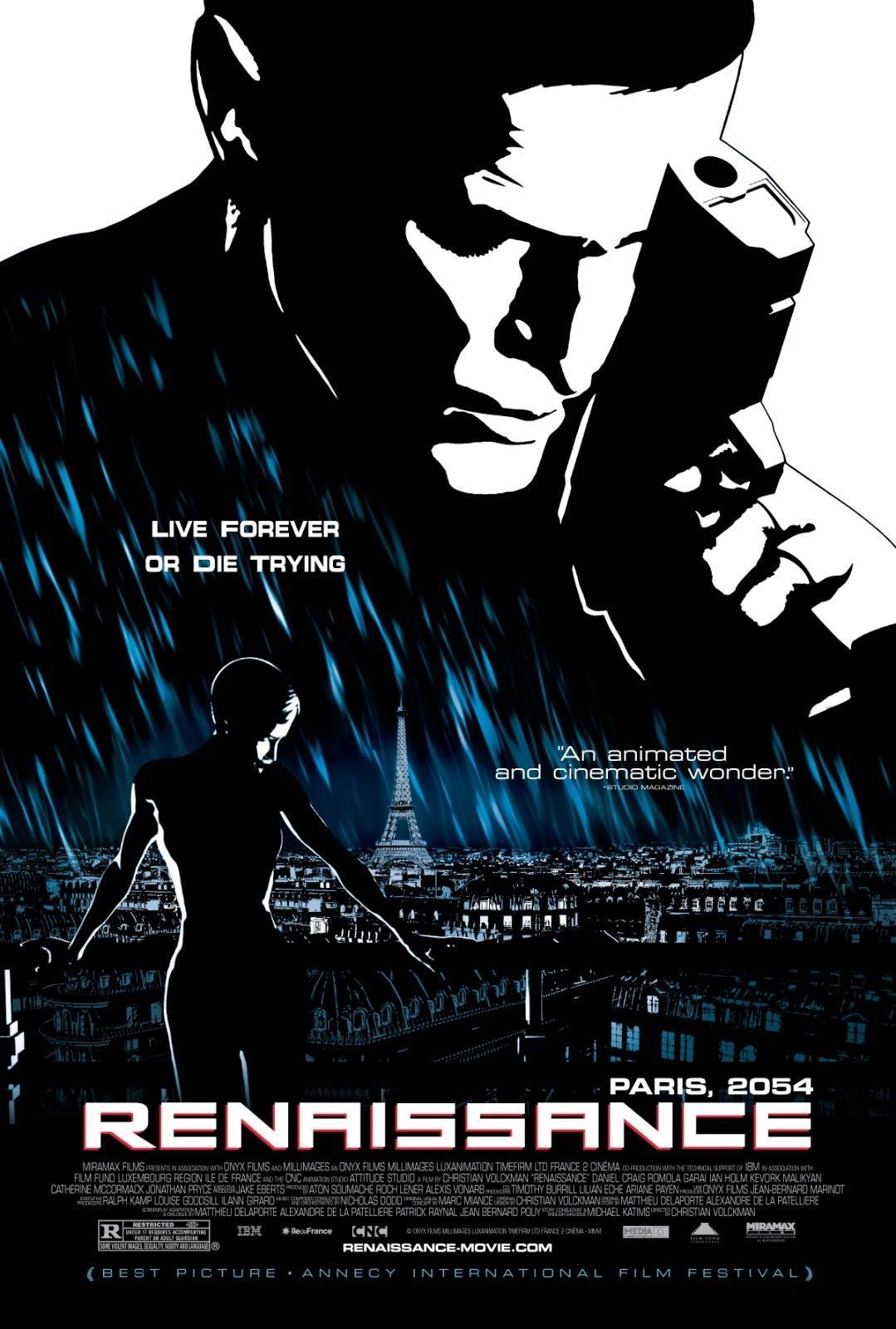 74001-Renaissance-2006-Animation-Action-Sci-Fi-Wall-Print-Poster-Affiche