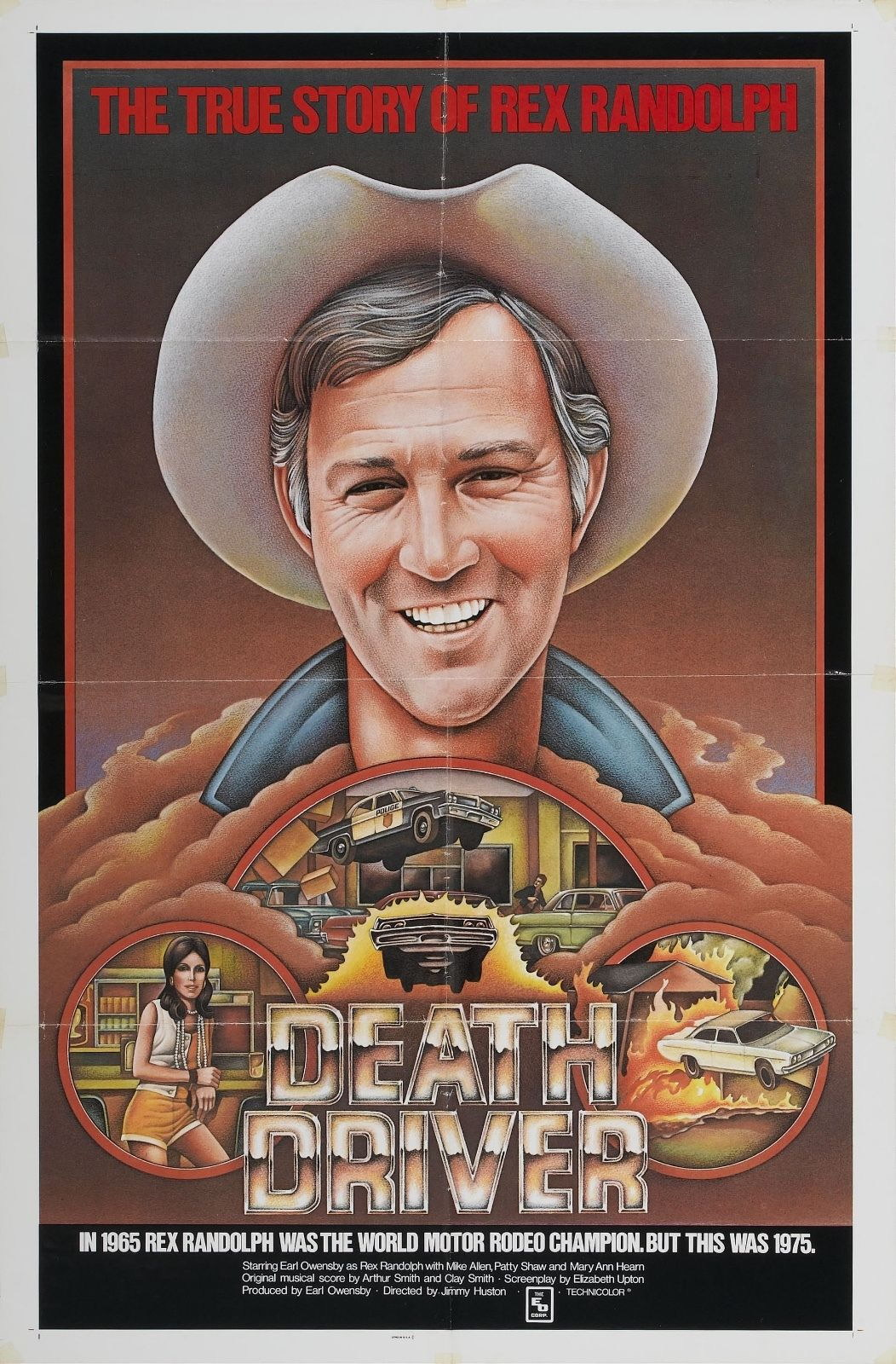 74020-Death-Driver-Movie-1977-Drama-Wall-Print-Poster-Affiche