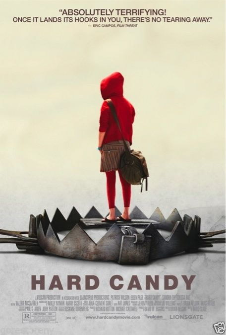 74174 HARD CANDY Movie Horror THRILLER SUSPENSE Wall Print Poster Affiche