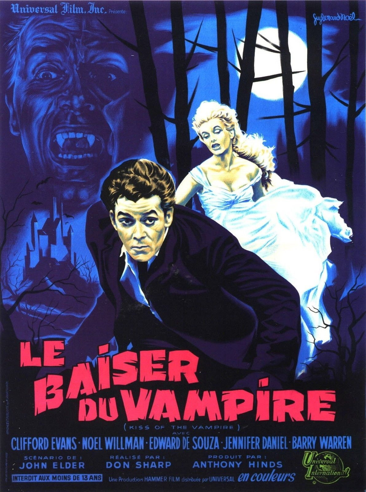 74283-KISS-OF-THE-VAMPIRE-Movie-RARE-Dracula-Wall-Print-Poster-Affiche