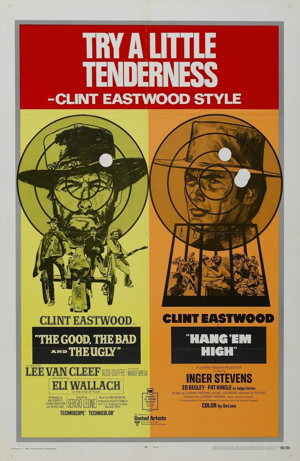 74321-HANG-EM-HIGH-Movie-RARE-Clint-Eastwood-Western-Wall-Print-Poster-Affiche