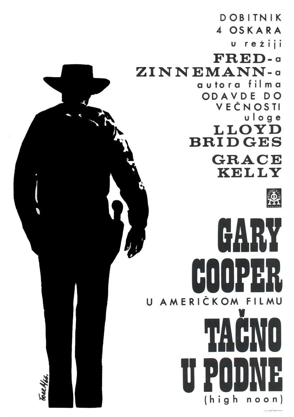 74401 HIGH NOON Movie 1952 Western Gary Cooper Wall Print Poster Affiche