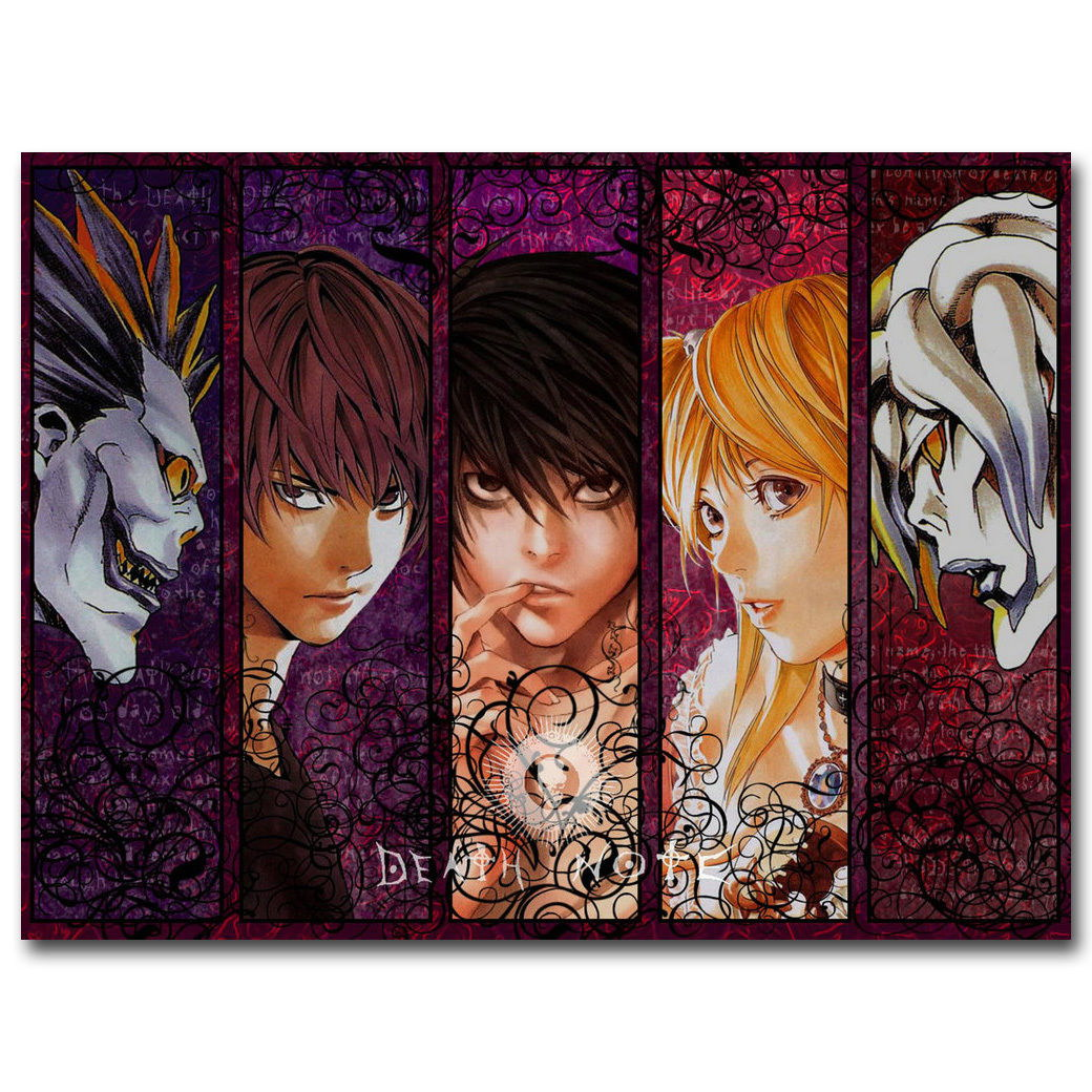 74957 Death Note Japanese Anime Ryuuku Yagami Light Wall Print Poster Plakat