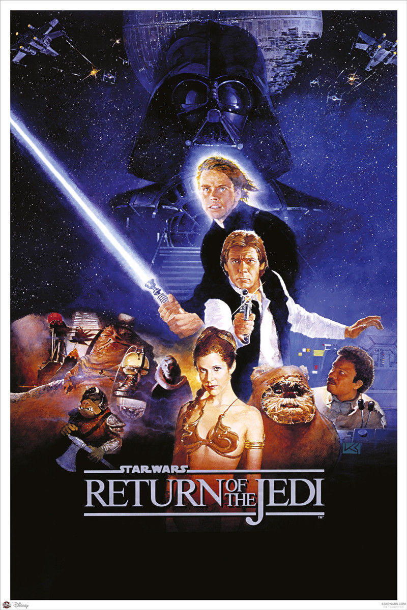 92268-STAR-WARS-EPISODE-VI-RETURN-OF-THE-JEDI-MOVIE-Decor-WALL-PRINT-POSTER-FR