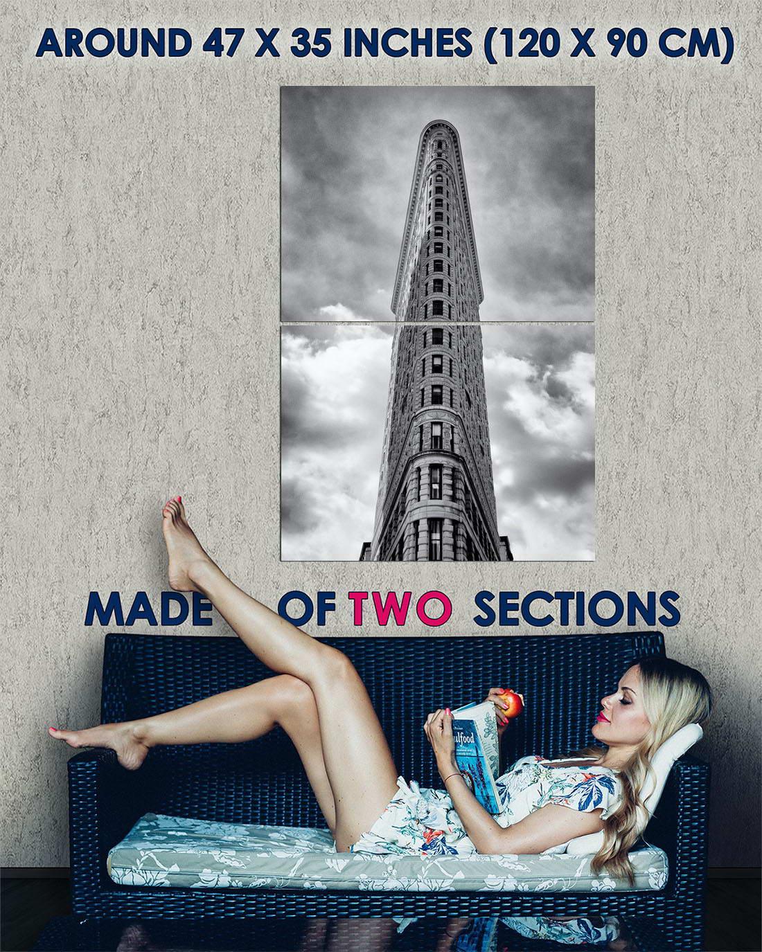 105191 flatiron building midtown manhattan new york decor. Black Bedroom Furniture Sets. Home Design Ideas