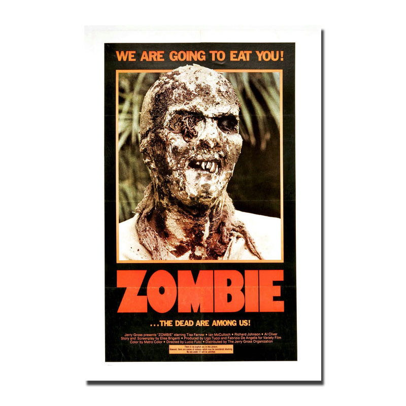 138261-ZOMBIE-aka-Zombi-2-Horror-Cult-Dawn-of-the-Dead-Wall-Print-Poster-Affiche