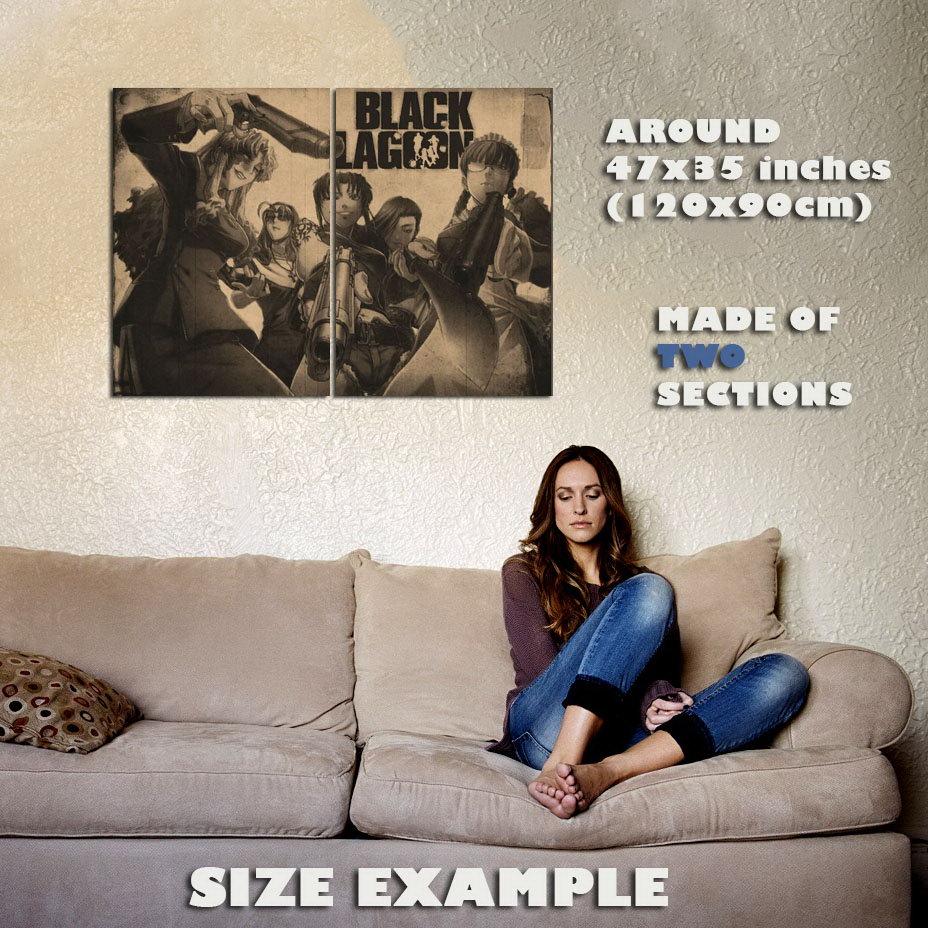138607-BLACK-LAGOON-MANGA-ANIME-Wall-Print-Poster-UK