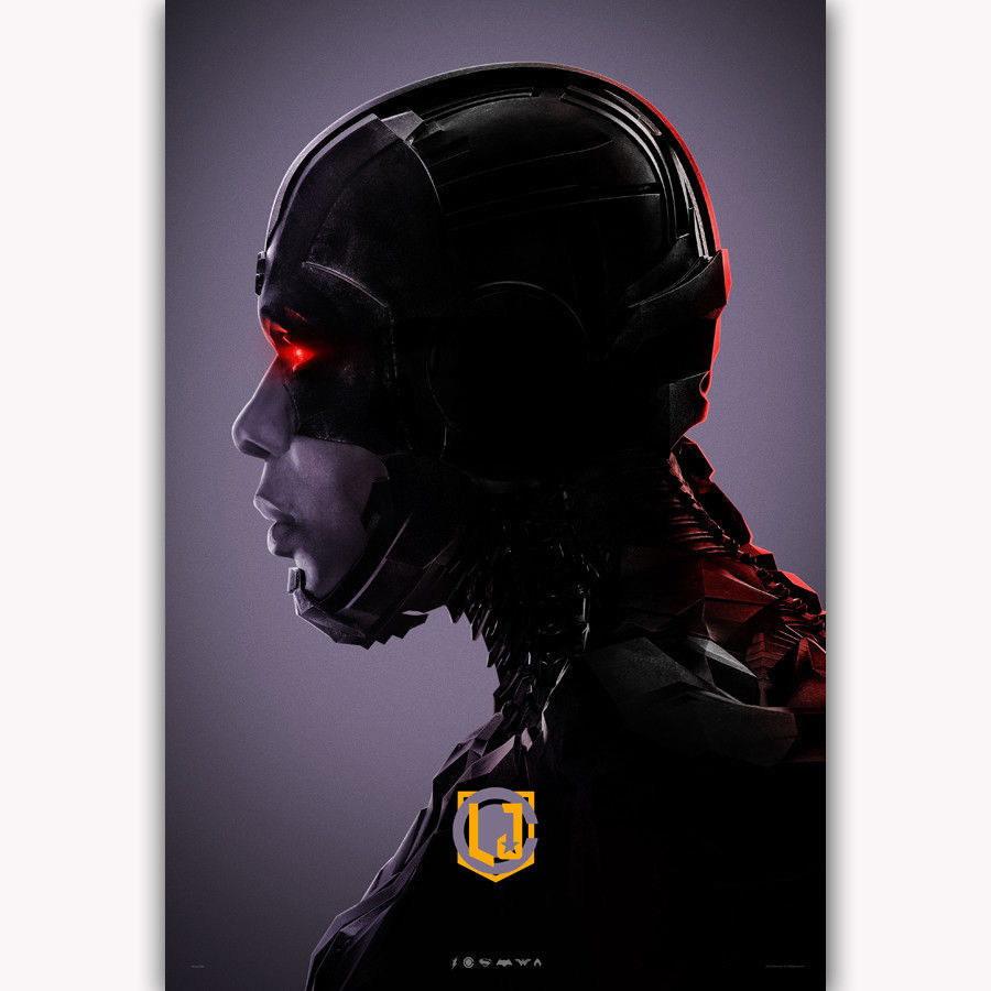 143455-Justic-Leagu-Cyborg-DC-Superhero-Wall-Print-Poster-UK