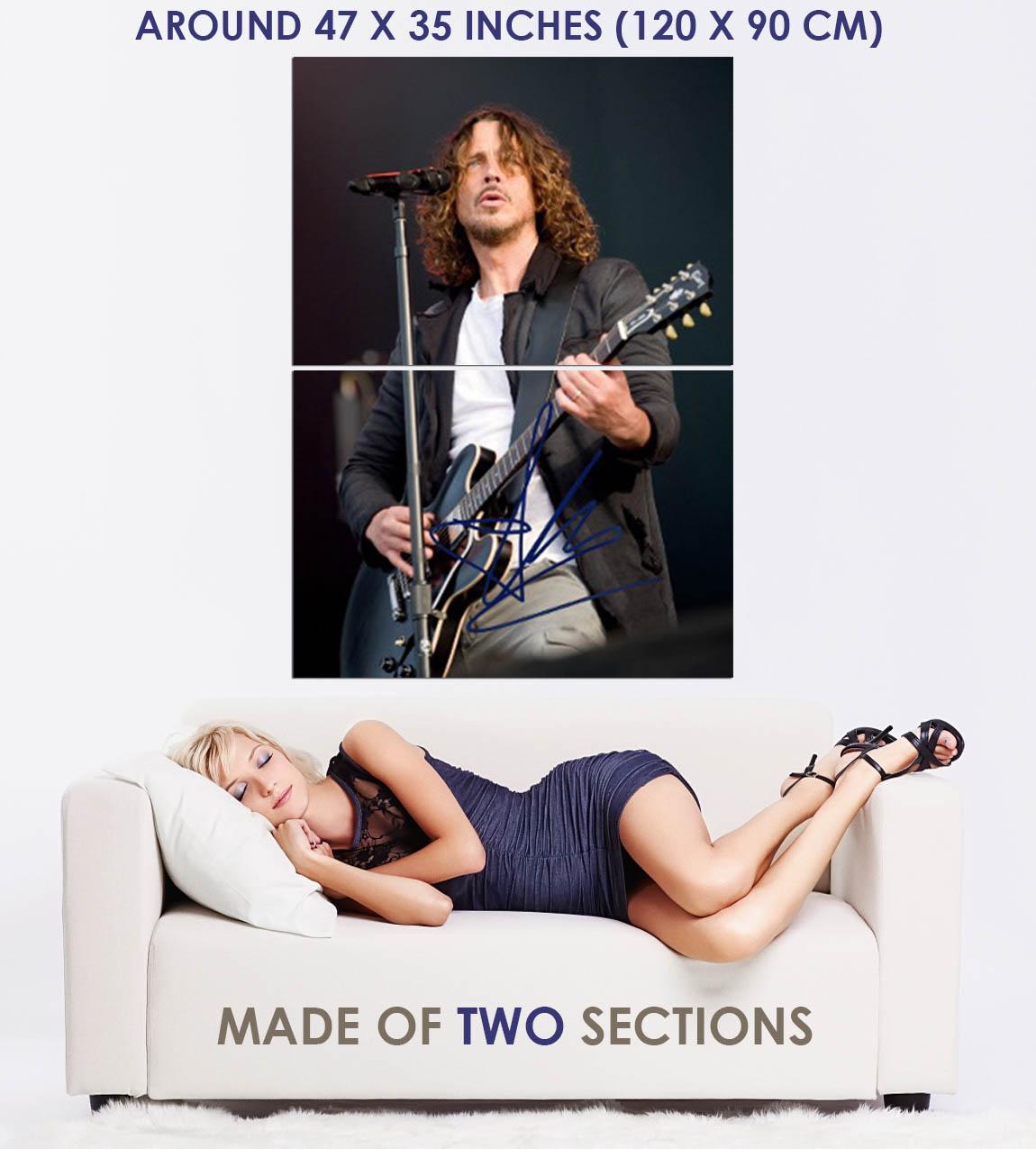 183067 Chris Cornell Soundgarden Signed Decor WALL PRINT POSTER FR