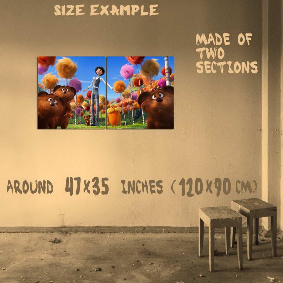 191062 Dr. Seuss\' The Lorax MOVIE Wall Print Poster AU | eBay